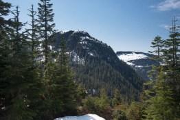 Mount Judson, shot from the alpine lake near Horseshoes Mountain