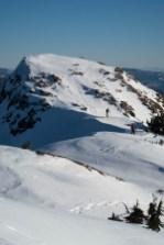 The summit ridge on Adder Mountain