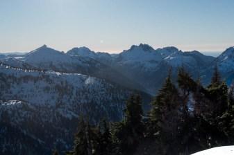 Mackenzie Range peaks, Tripple Peaks, Cats Ears, Peak 5040