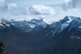 view from our hiking trip to Tyee Mountain in Strathcona Park