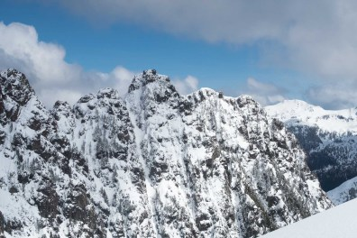 Cats Ears, south face