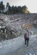 Hiking to Mount Sarai