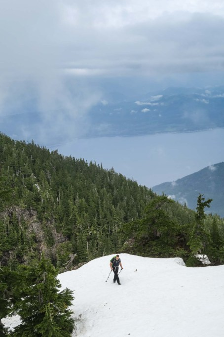 Hiking to Mount Peel on Vancouver Island