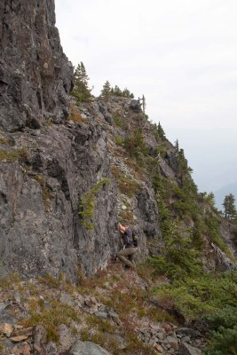 Watchtwower Peak, Vancouver Island hiking