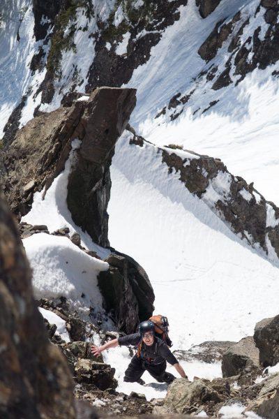 a hike to Zeballos Peak