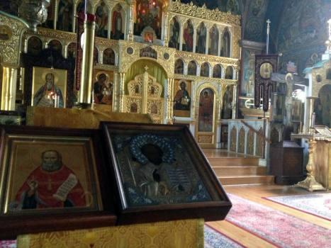 Holy Trinity Monastery - Jordanville, NY Church #1 Icons