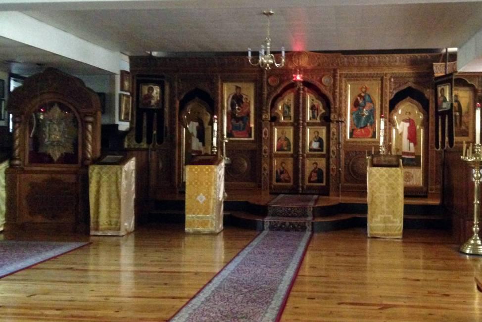 Holy Trinity Monastery - Jordanville, NY Church #2 Basement Iconostatsis