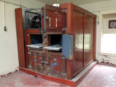 Body Coolers in the Morgue at Willard Asylum