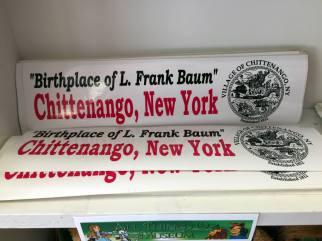 Chittenango, New York bumper stickers
