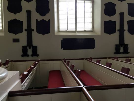 Old Cadet Chapel at West Point Military Academy