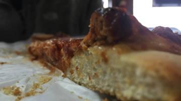 Sausage Pizza at O'Scugnizzo's Pizzeria in Utica, New York