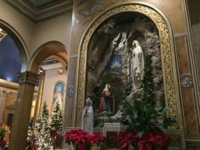 Side Altar in St. Luke's Mission in Buffalo, New York