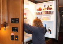 Secure the refrigerator & cupboards
