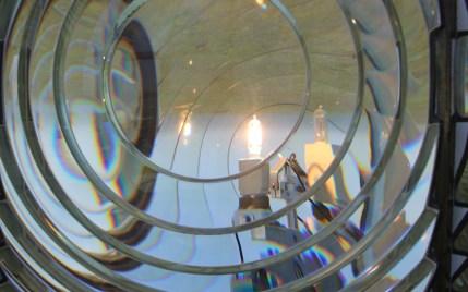 Light inside the lens