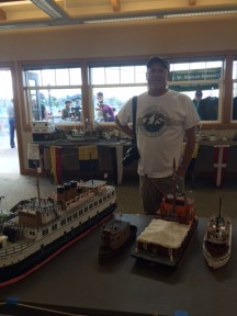 Model Ship Display