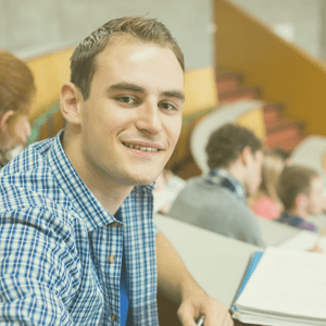 Image: Young man - University Student