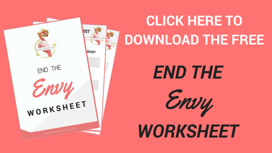 Download the free END THE ENVY worksheet