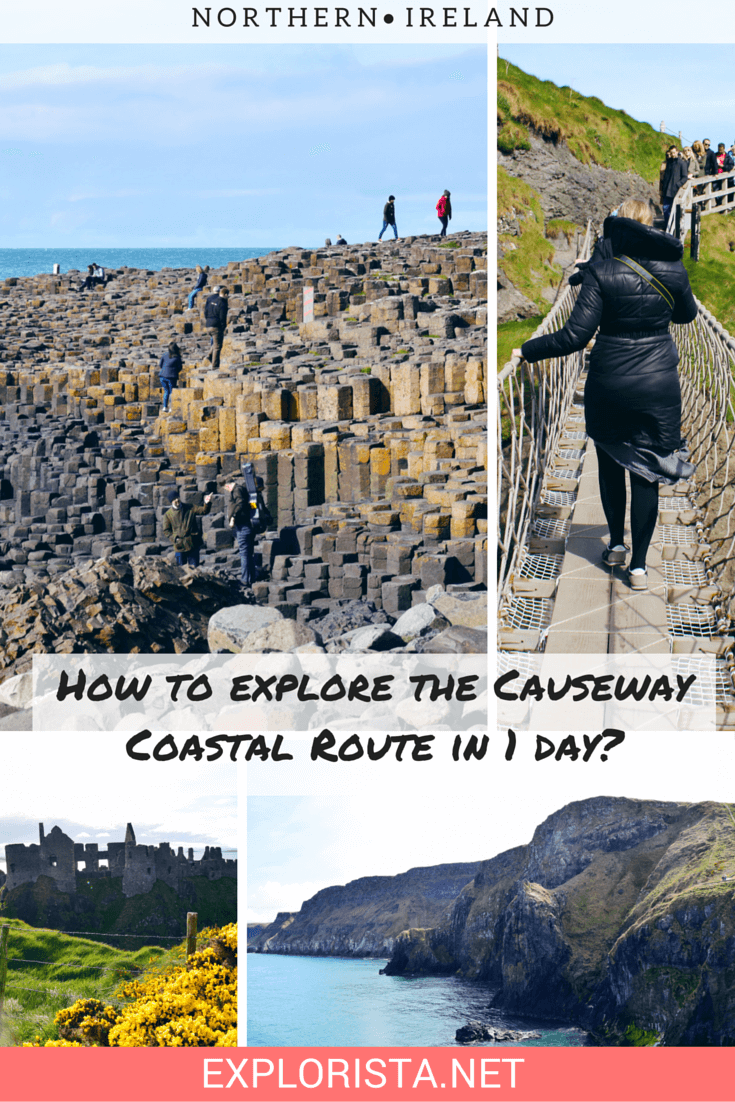 How to explore the Causeway Coastal Route in 1 day?