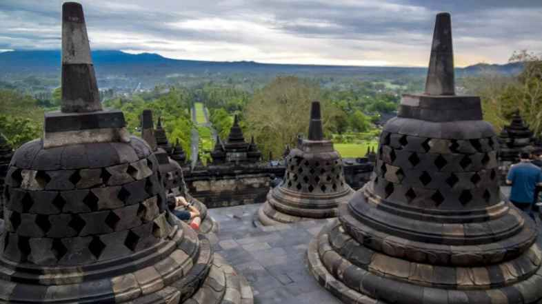 How to see the sunrise at Borobudur temple