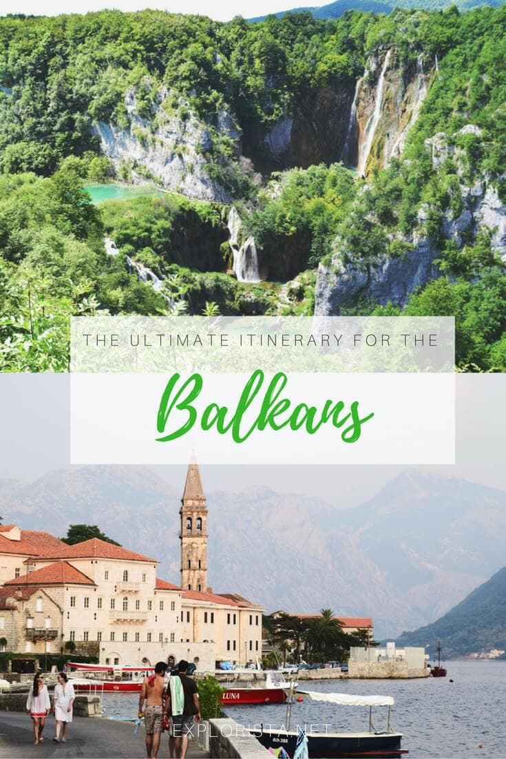 This is the ultimate itinerary for a three week road trip in the Balkans.