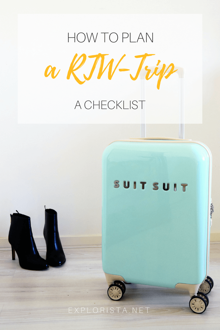 Planning a RTW trip might seem overwhelming but I am sharing my step by step checklist so you can plan your own adventure.