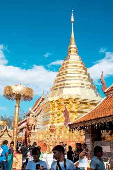 Watphrathatdoisuthep5 - Wat Phra That Doi Suthep tempel bezoeken vanuit Chiang Mai