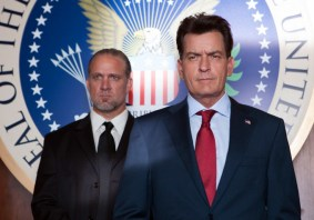 Jesse James & Charlie Sheen, The White House's Finest