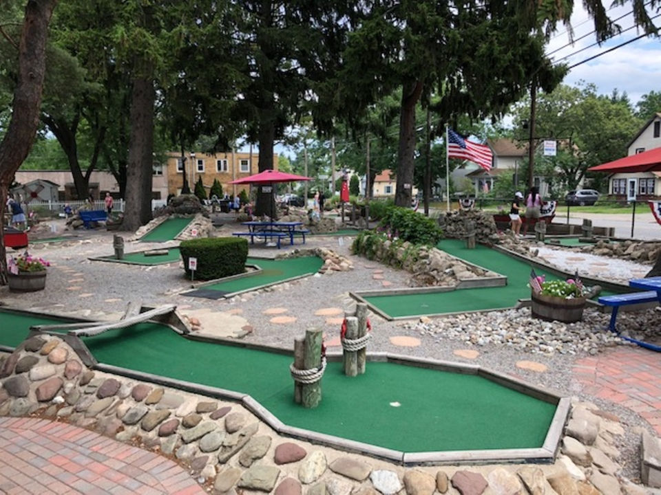 The oldest miniature golf course in the US is in Upstate