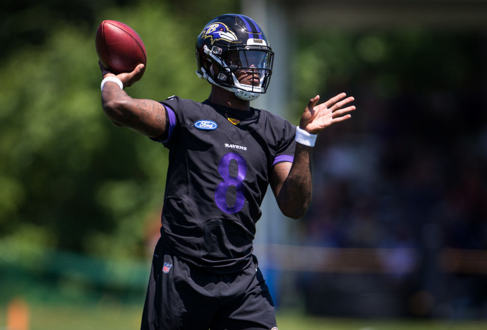Lamar Jackson buzz What Baltimore Ravens teammates coaches are saying about the rookie QB
