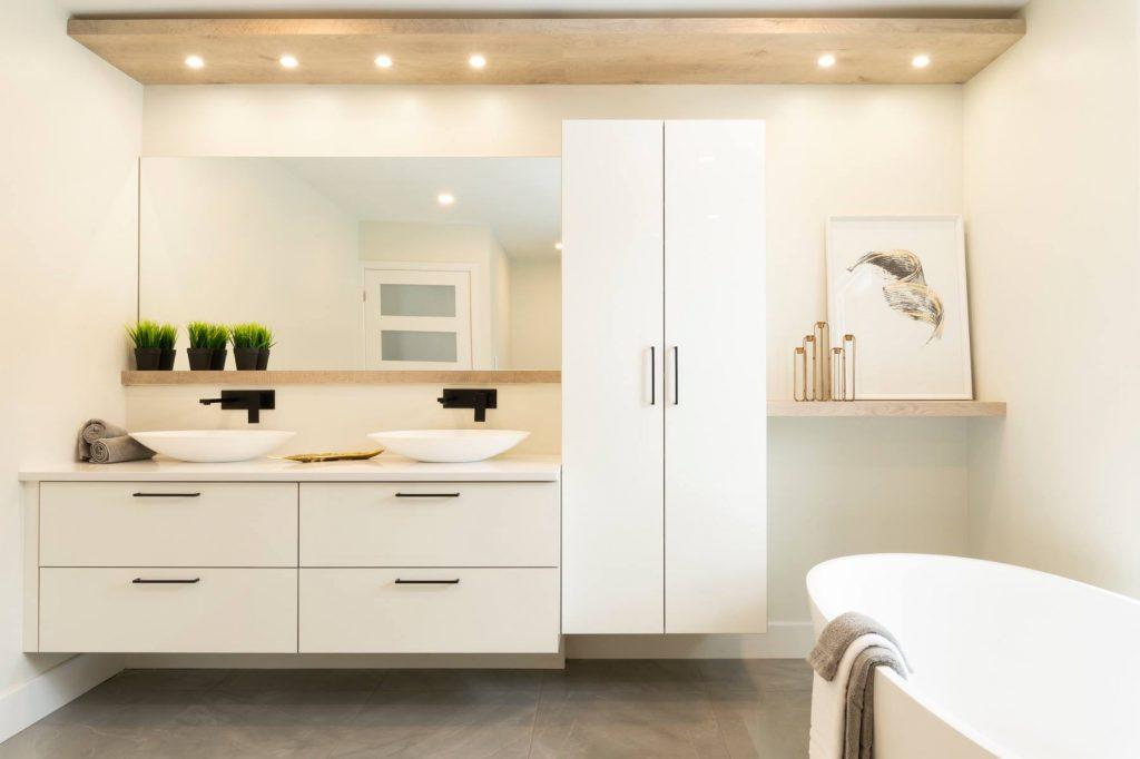 salle de bain avec projet maison