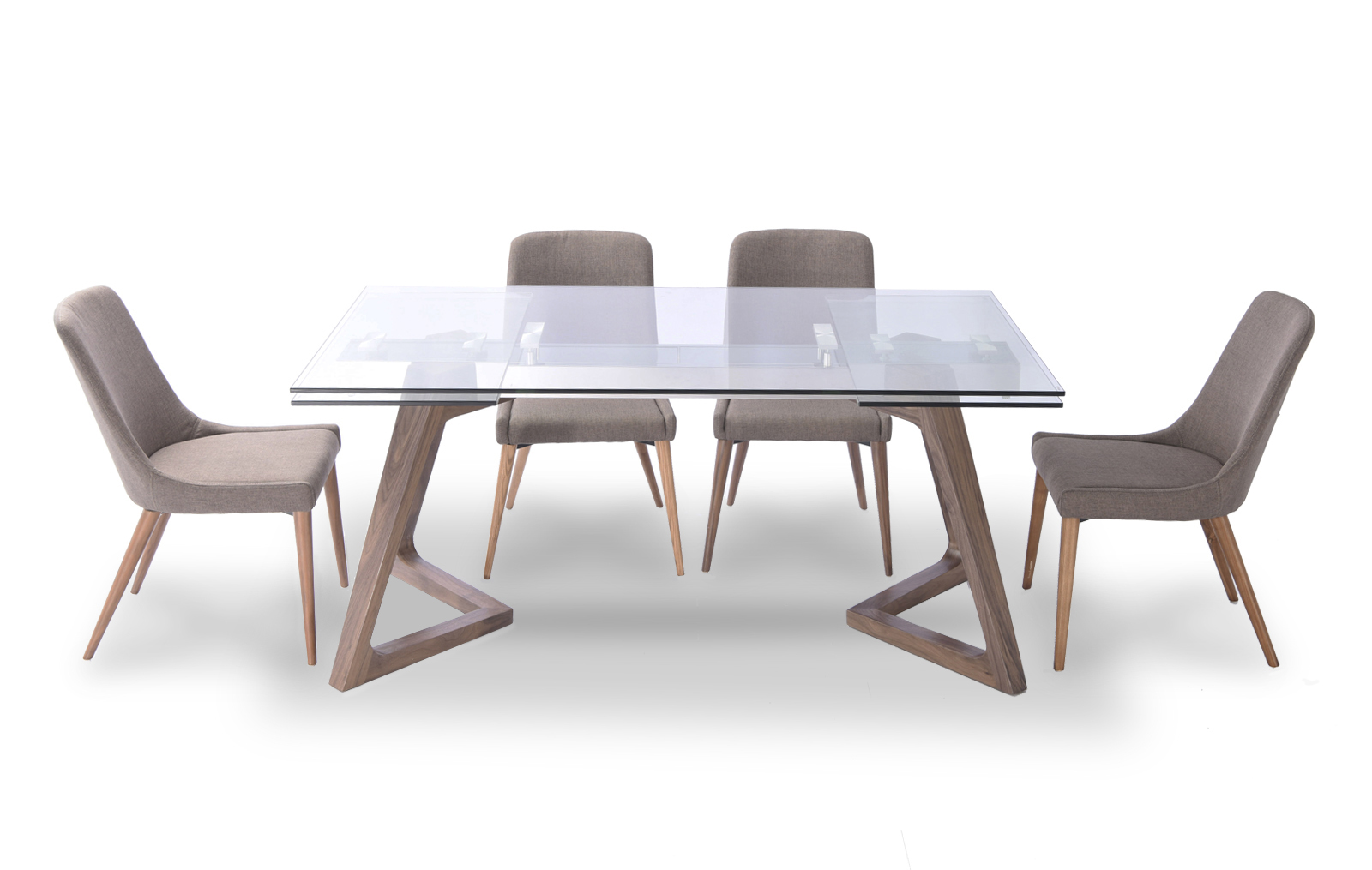 Modern Dining Table And Chairs 8811 Table And 941 Chairs Modern Casual Dining Sets
