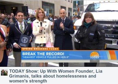 Émission TODAY sur NBC : L'histoire du record mondial d'une DG