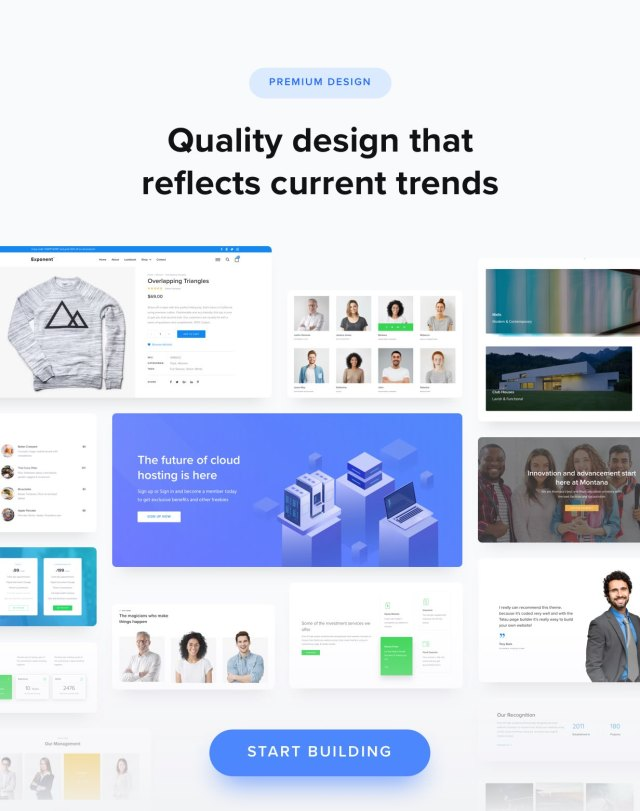 100+ High Quality Design Layouts