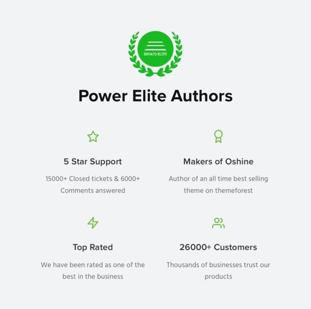 Power Elite Authors