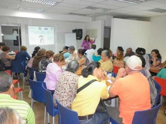 Taller Emprender en la 3era Edad. 28-3-15 Centro Expreso Chacaíto