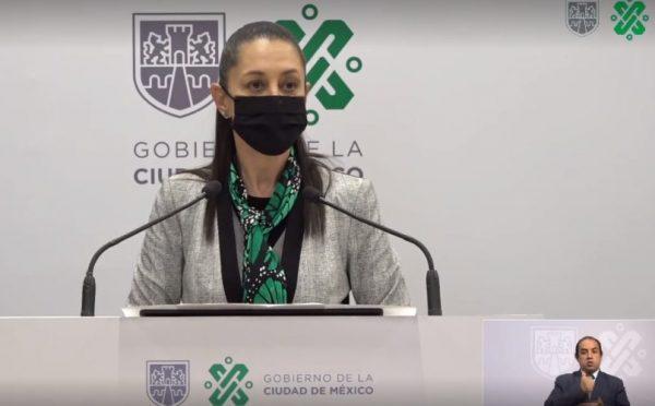 CDMX mantiene semáforo naranja con alerta ante 100 mil muertes por Covid-19 en México