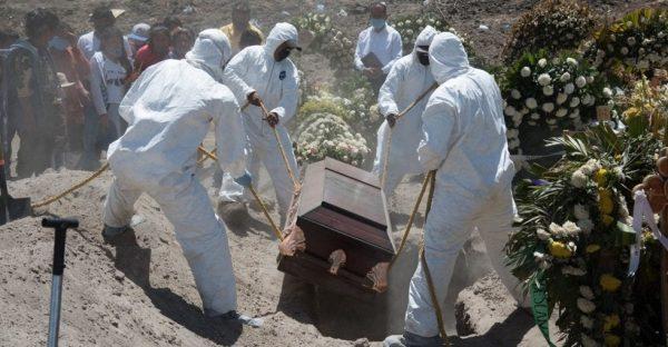 100 mil muertes por COVID es el conteo oficial, pero van más de 260 mil
