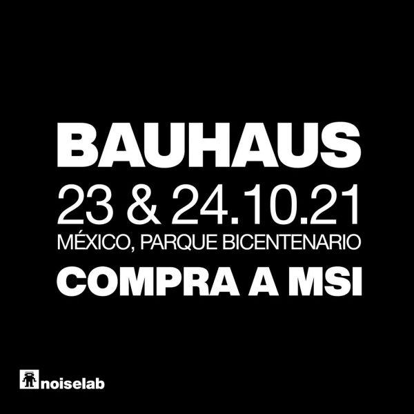 Confirman conciertos de Bauhaus en la CDMX 23 y 24 de Octubre 2021