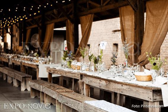 Estilos de montaje para boda  ExpoNovia