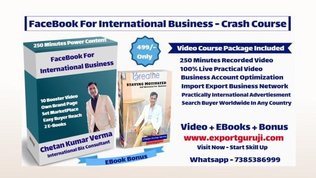 Facebook For International Business Unlimited Buyer Crash Course