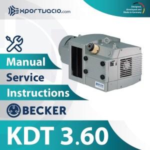 Becker KDT 3.60 Manual