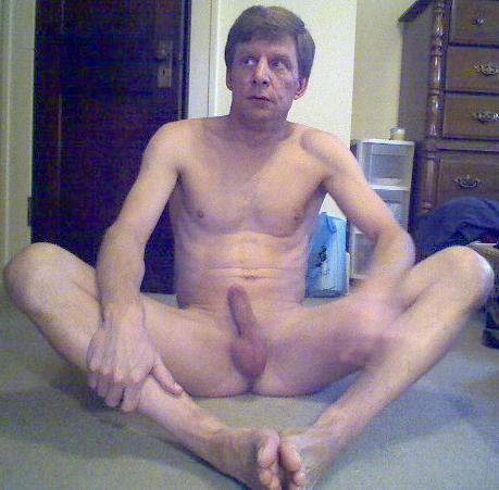 David Steckel naked and hard