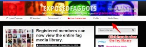 howto (Members can now view the entire fag media library.)