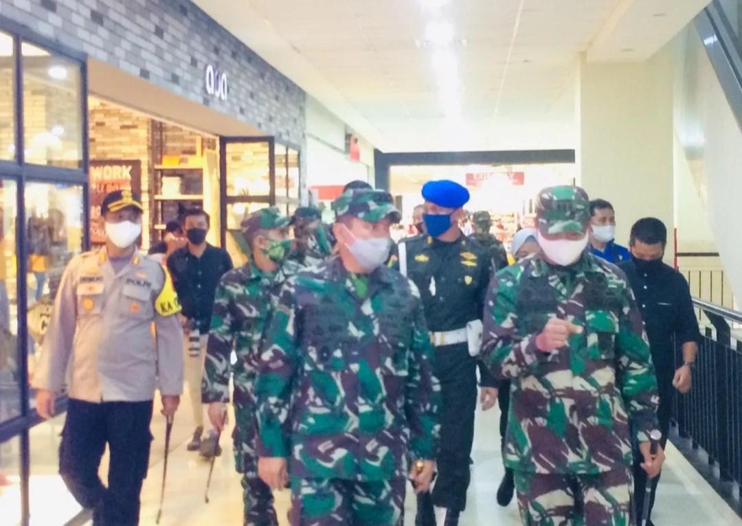 "Pangdam Merdeka Tinjau Kesiapan Mall Gorontalo Hadapi ""New Normal"""