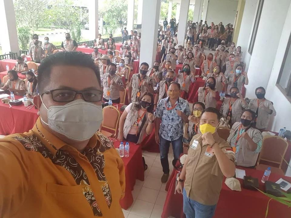Gelar Bimtek PKD Se-Minut, Rahman Ismail: Patuhi Protokol Kesehatan