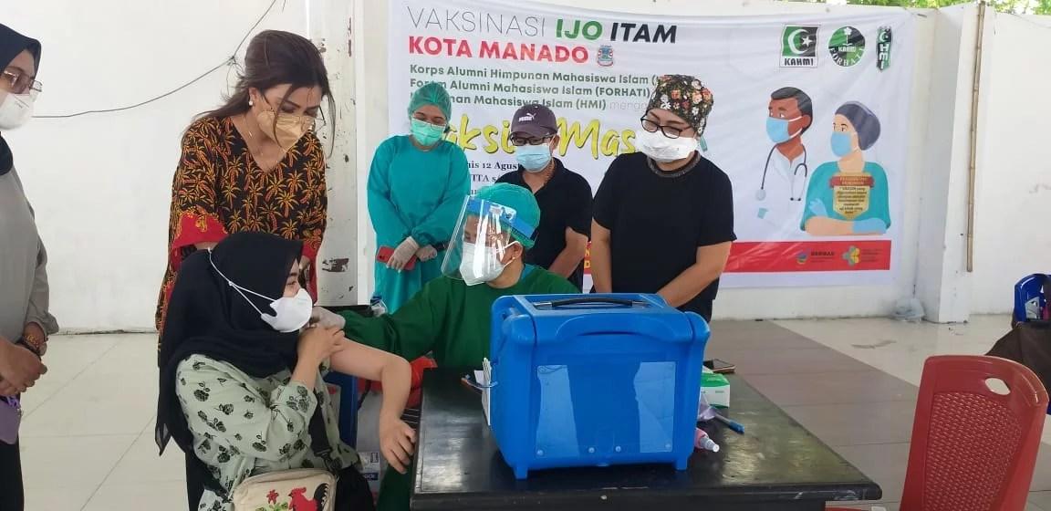 Keluarga Besar 'Ijo Itam' Sukses Laksanakan Vaksinasi Tahap II