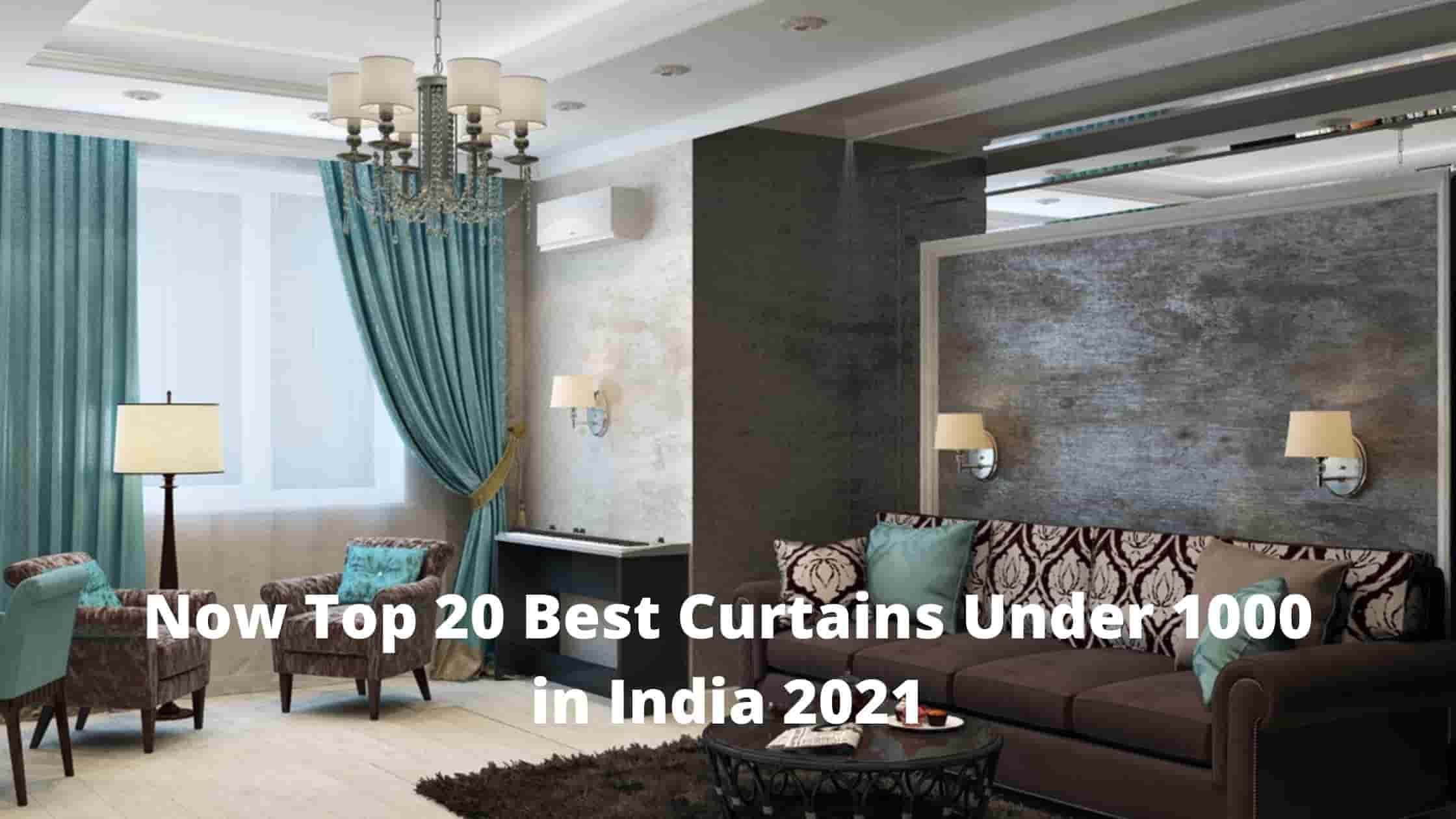 Now Top 20 Best Curtains Under 1000 in India 2021 [Bengali]