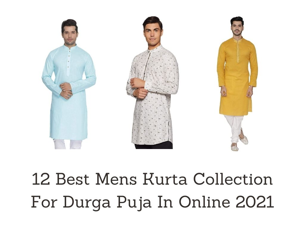 You are currently viewing 12 Best Mens Kurta Collection For Durga Puja In Online 2021 [Bengali]