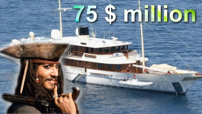 Johnny Depp Yatch