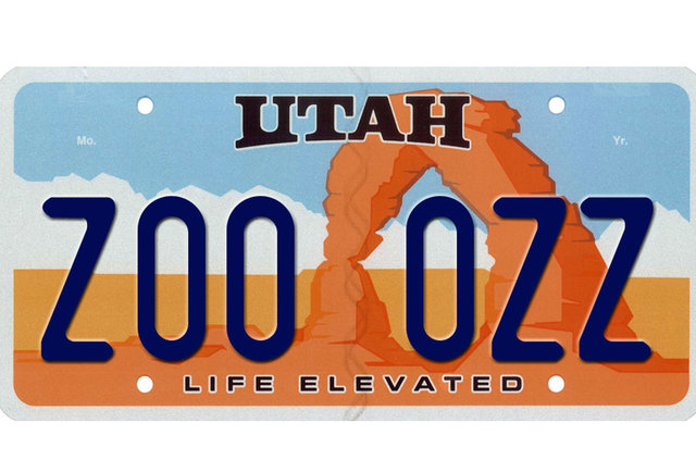 Top 10 best us license plates Utah